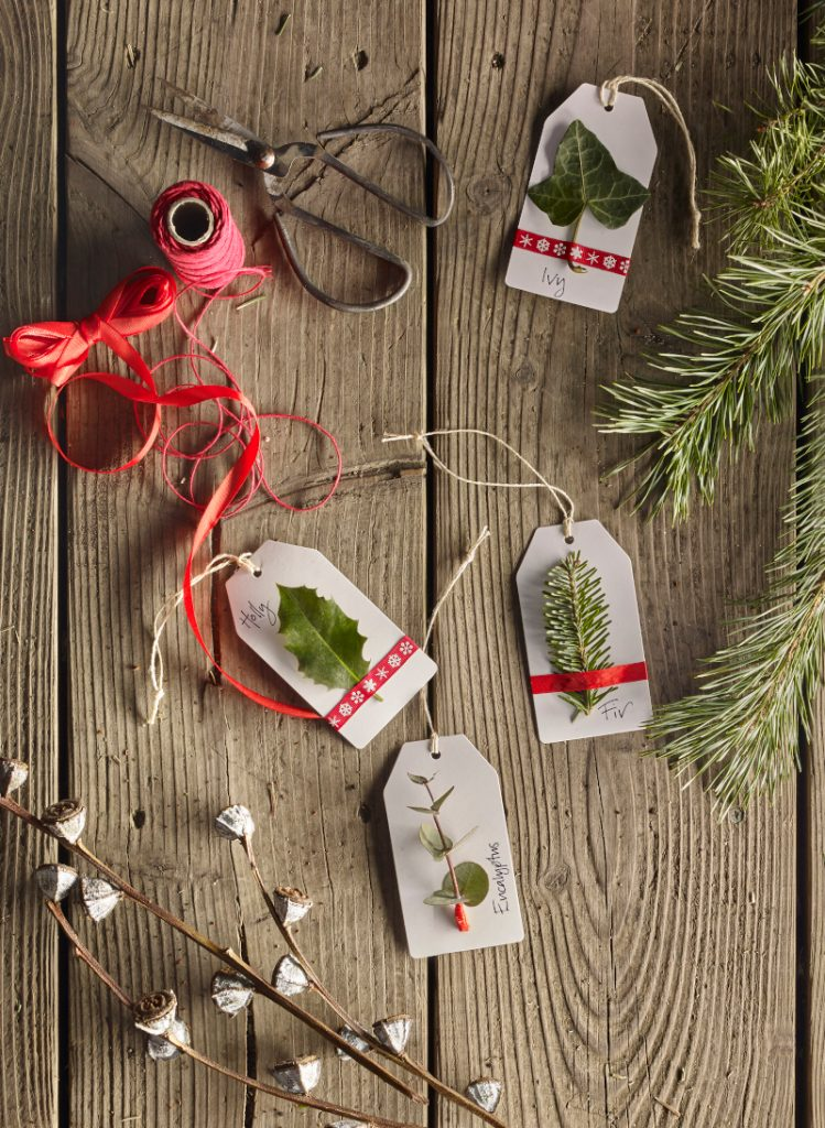 Dobbies Christmas Tags